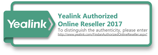 Yealink Authorized Onlind Reseller Logo2017
